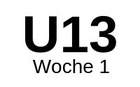 12.-16.08.2019 W1-U13